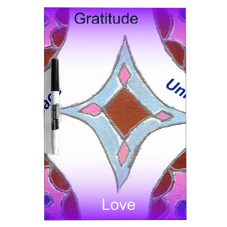 Peace Love Unity hakuna matata .png Dry-Erase Board