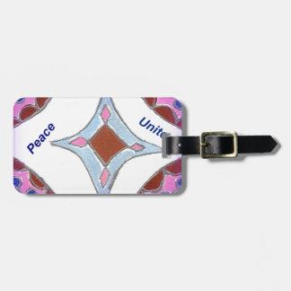 Peace Love Unity hakuna matata .png Travel Bag Tags