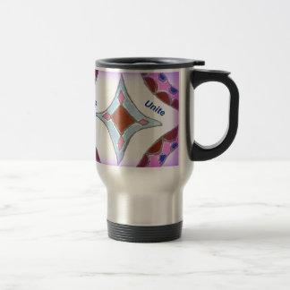 Peace Love Unity hakuna matata .png Coffee Mug