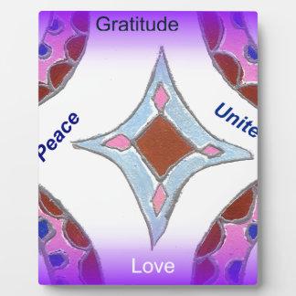 Peace Love Unity hakuna matata .png Plaques