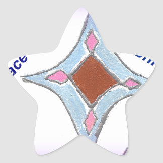 Peace Love Unity hakuna matata .png Star Sticker