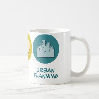 Peace Love Urban Planning Coffee Mug