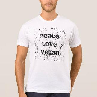 Peace, Love, Vegan T Shirts