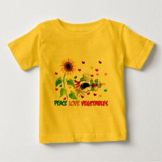 Peace Love Vegetables Tee Shirt