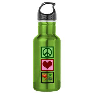Peace Love Vegetarian 532 Ml Water Bottle