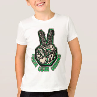 Peace Love Veggies Shirts