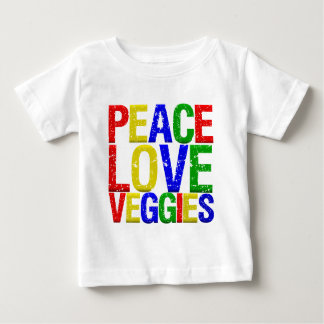 Peace Love Veggies Tee Shirts