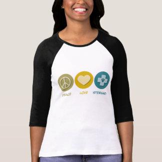 Peace Love Veterinary T-Shirt