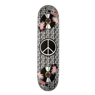 Peace, Love & Vinyl Skate Board Deck