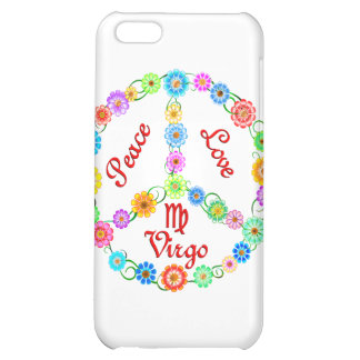 Peace Love Virgo Cover For iPhone 5C