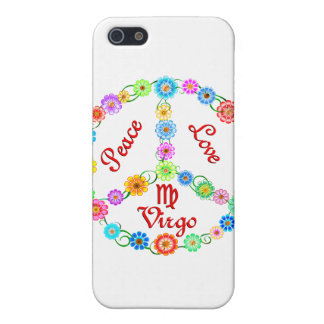 Peace Love Virgo Cases For iPhone 5