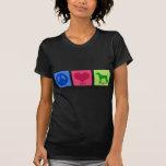 Peace Love Vizsla Tee Shirts