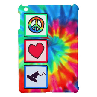 Peace, Love, Wakeboarding Cover For The iPad Mini
