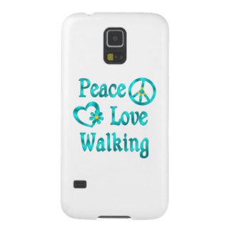 Peace Love Walking Case For Galaxy S5