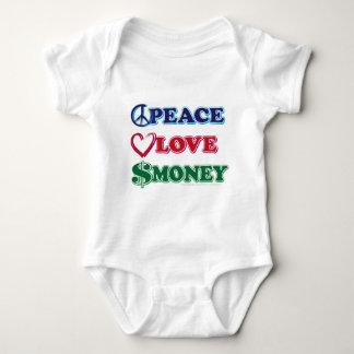 Peace-Love-Wall-Money Shirts