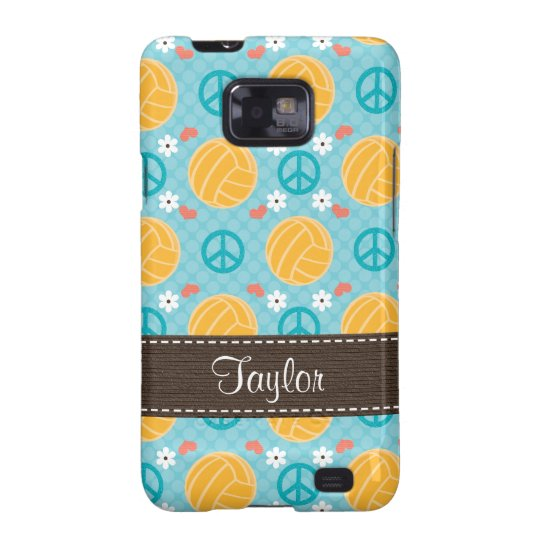 Peace Love Water Polo Samsung Galaxy S Case Cover