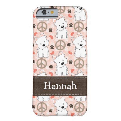 Peace Love Westies iPhone 6 Case