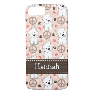 Peace Love Westies iPhone 8/7 Case
