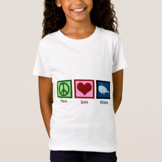 Peace Love Whales T-Shirt