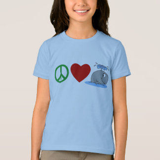 Peace Love Whales T shirts, Travel Mugs, Gifts T-Shirt