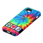 Peace, Love, Windsurfing iPhone 5 Cover
