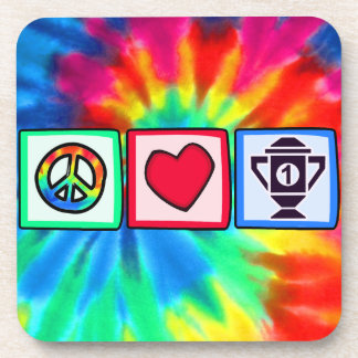 Peace, Love, Winning Coasters