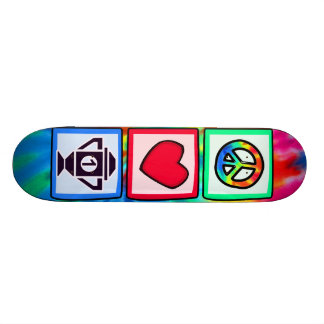Peace Love Winning Skate Deck