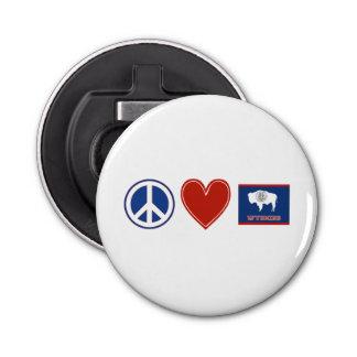Peace Love Wyoming