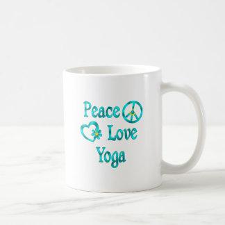 Peace Love Yoga Mugs
