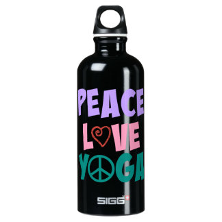Peace Love Yoga SIGG Water Bottle SIGG Traveller 0.6L Water Bottle