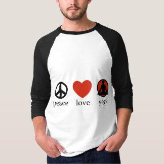 Peace Love Yoga T-Shirt