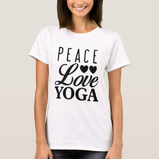 Peace Love Yoga Tee