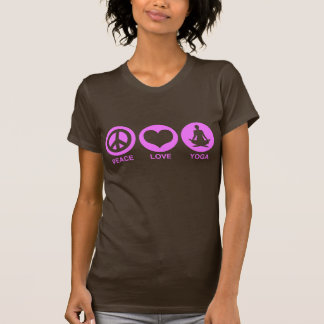Peace Love Yoga Tees