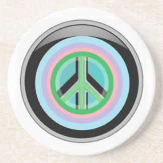 Peace lover drink coasters