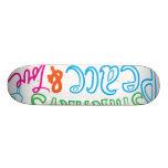 peace lovw skatebord skateboard