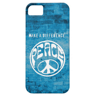 Peace: Make a Difference iPhone 5 Case