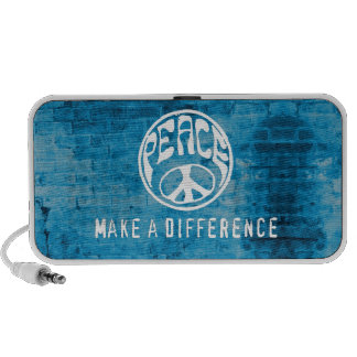 Peace Make a Difference Portable Speakers