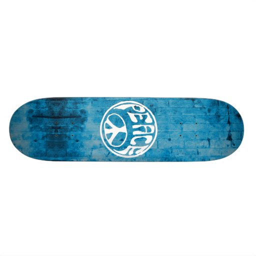 Peace: Make a Difference Skate Board Deck
