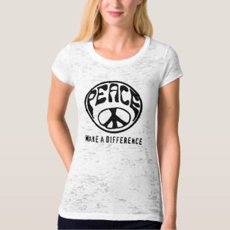Peace: Make a Difference T-shirts