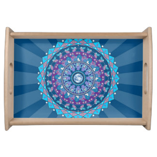 Peace Mandala Serving Tray