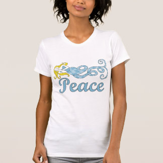 Peace Mermaid Holiday Dreams Tee Shirts