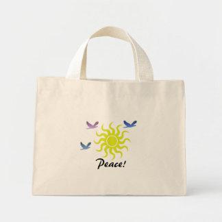 Peace! Mini Tote Bag