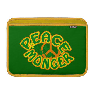 Peace Monger custom iPad / laptop sleeve