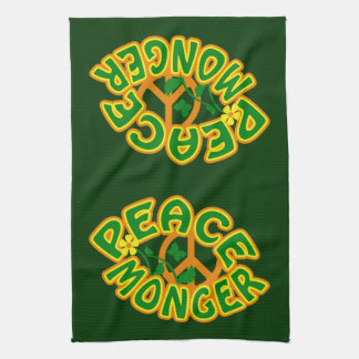 Peace Monger custom kitchen towels