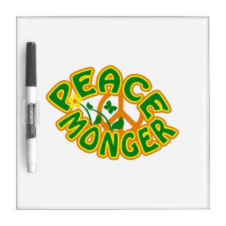 Peace Monger custom message board