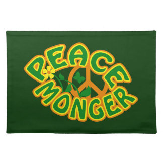 Peace Monger custom placemat