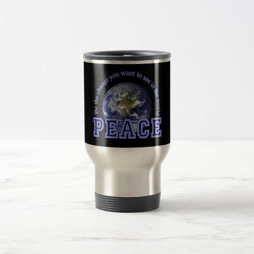 PEACE mug - choose style & color