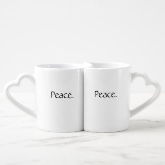 Peace Mug Set