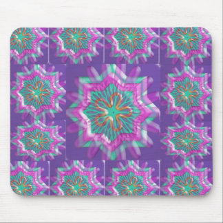 Peace n Joy: Holy Purple Star Constellation Mouse Pad