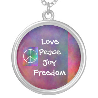 Peace Necklace by Kayla